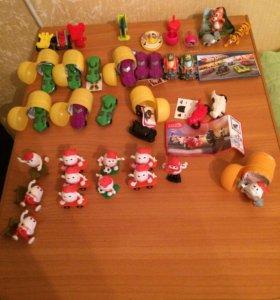 Игрушки из киндерсюрприз