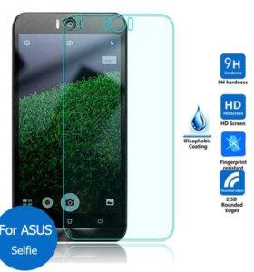 Защитное стекло zenfon 2. 5,5.ZD551KL. selfi.