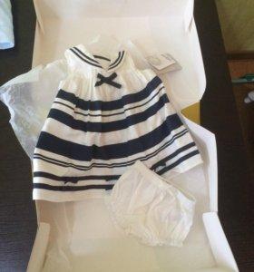 Новое Платье mamas&papas на 3 месяца