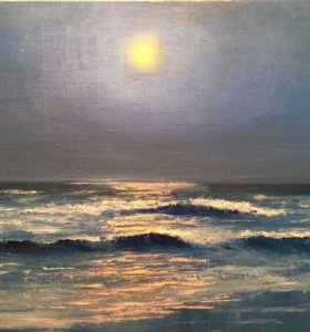 Лунная ночь на море