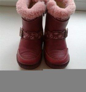 Детские сапожки зима