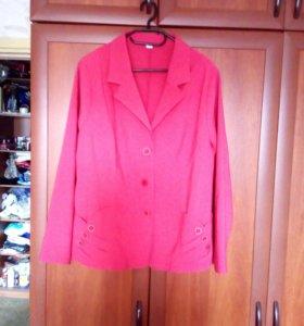 Пиджак женский(новый) размер 58
