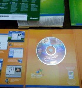Лицензионный диск Windows XP коробочный в идеале