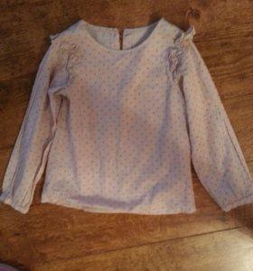 Блуза для девочки 122 размер