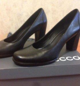 Туфли Ecco , кожаные