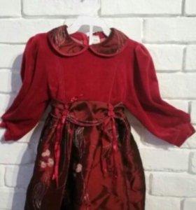 Новое платье на рост 104 (бронь)