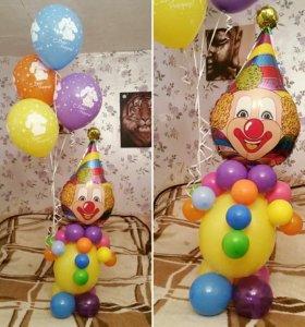 Фигуры из воздушных шаров от 500р