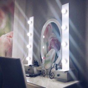 Подсветка для зеркала (идеальный макияж)