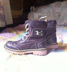 Ортопедические ботинки на девочку