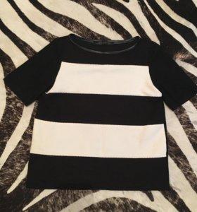 Текстурная футболка Zara