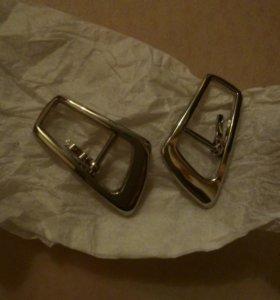 Пряжки металлические 12 пар