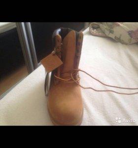 Timberland новые женские ботинки 38.5-39. Оригинал