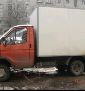 Грузоперевозки на газеле промтоварная будка 1.5т.