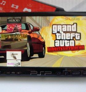 PSP 3008 Прошитая + 70игр + Чехол + Minecraft