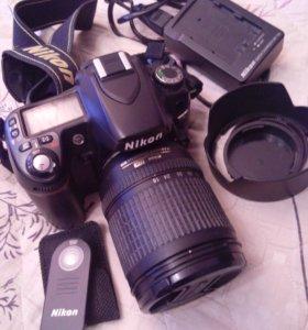 Nikon D80 полупроф. Матрица 10Мб, Кит 18-135