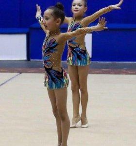 Купальники групповые для художественной гимнастики