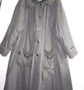 Демисезонное пальто размер 68