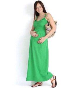 44размер. Новый сарафан для беременных и кормящих.