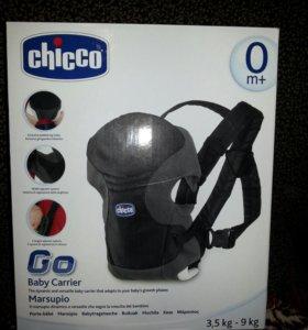 Переноска кенгуру Chicco GO Baby от 0+