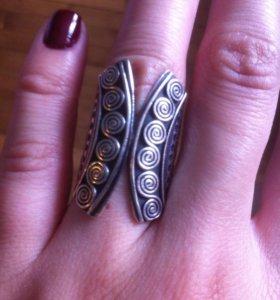кольцо серебро 925,чернение