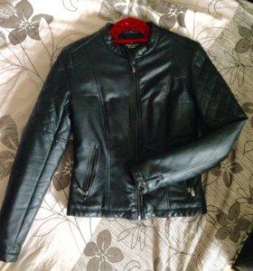 Куртка эко-кожа XS