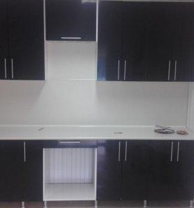 Новая кухня с витрины