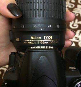 Фотоаппарат Nicon D3100(B)-зеркальный