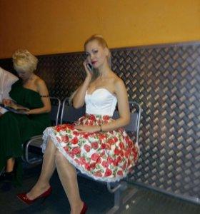 Платье( корсет  +юбка)