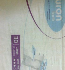 Памперсы для взрослых упаковка 30шт размер3