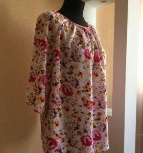 Блуза размеры: 48-58