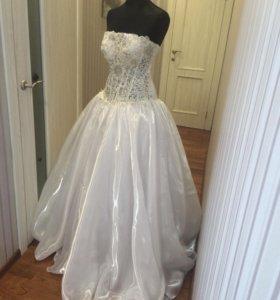 Свадебное платье размер 40-44