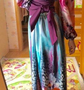 Платье длинное в пол размер 40,42,44