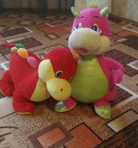 "Мягкие игрушки ""Динозаврики"""