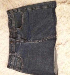 Юбка-мини джинсовая 42-44р-р