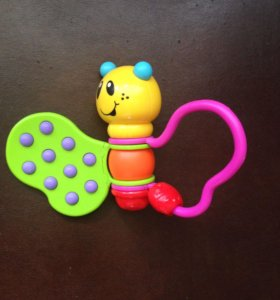 Игрушка погремушка бабочка