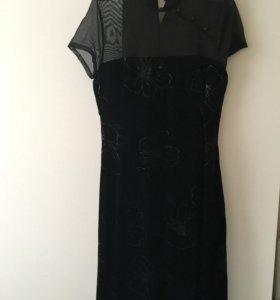 Платье вечернее(панбархатное)
