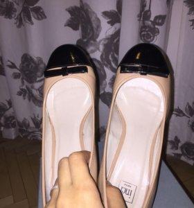 Туфли кожаные 38р новые