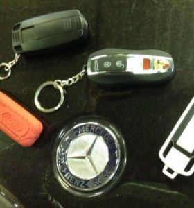 Зажигалки USB в форме авто ключа и ли флешки