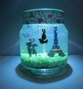 Свечи с миниатюрами на заказ ручной работы