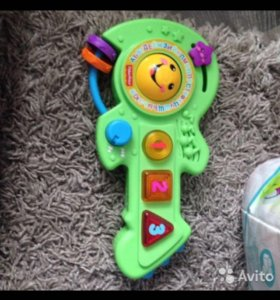 Гитара fisher price