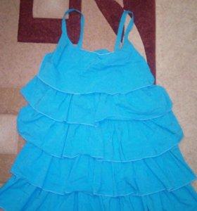 Платье 44-48 размера.