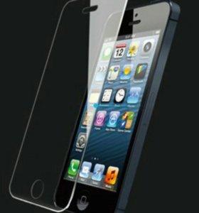 Защитное стекло iPhone 5 S SE
