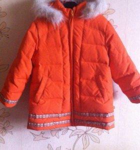 Зимняя куртка р.110