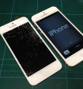 Замена стёкол iPhone , iPad
