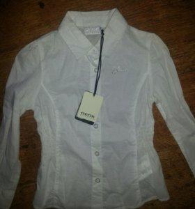 Рубашка для девочки 4 года geox