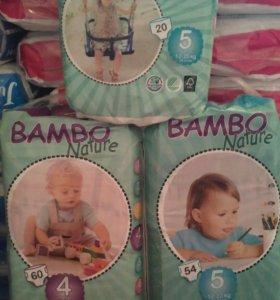 Подгузники Бамбо