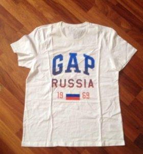 Мужские футболки gap новые ассортимент