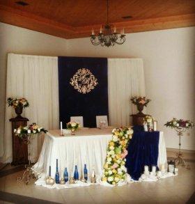 Оформление свадьбы, юбилей, день рождения