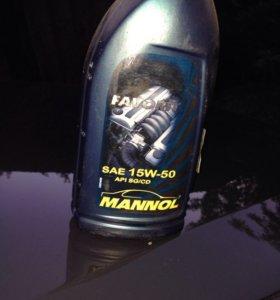 Моторное масло манол