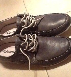 Мужская обувь 42 р новые, натуральная кожа